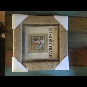 Other - Burlap/ Picture frame/ shadow box